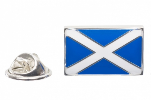 Scottish Flag Lapel Pin